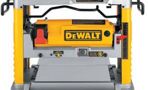 DeWalt 12 1/2 Inch Planer With 3 Cutter Heads