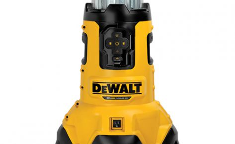 Dewalt 20-Volt Max Corded or Cordless Bluetooth LED Area Work Light & Charger